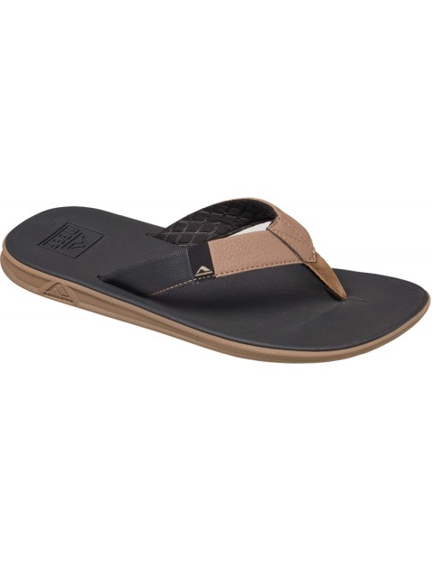 Reef Slammed Rover Sport Sandals in Black/Tan