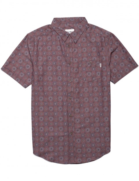Rhythm Sonoma Short Sleeve Shirt in Henna