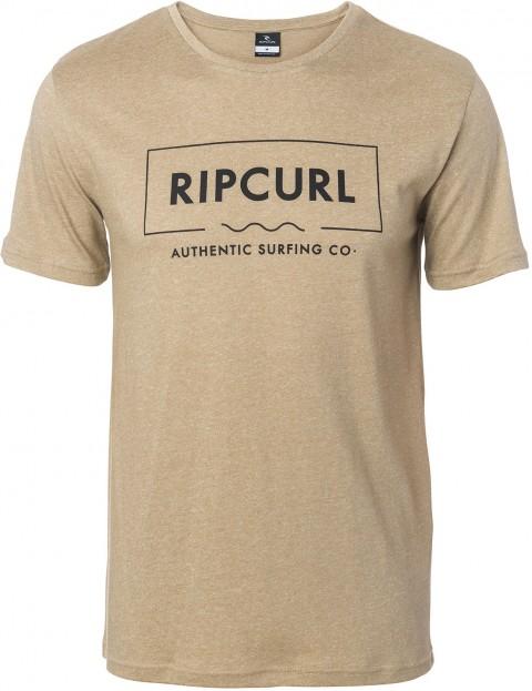 ecb28b2a Rip Curl Broken Angle Tee Short Sleeve T-Shirt in Lead Grey | hardcloud.com