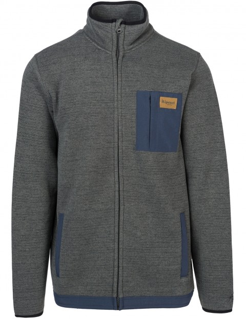 Rip Curl Dawn Line Anti-Series Polar Jacket in Charcoal