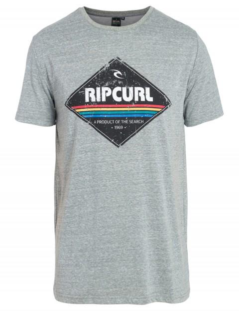 328ce349 Rip Curl Diamond Short Sleeve T-Shirt in Beton Marle | hardcloud.com