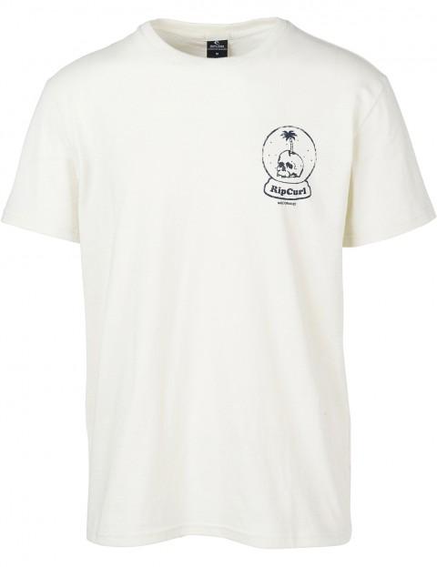 1ed3e95a Rip Curl Lazy Skull Short Sleeve T-Shirt in Light Gray | hardcloud.com