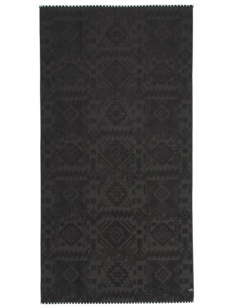 Slowtide Greyson Beach Towel in Black
