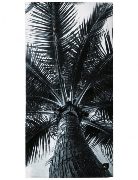 Slowtide Nui Beach Towel in Black/White