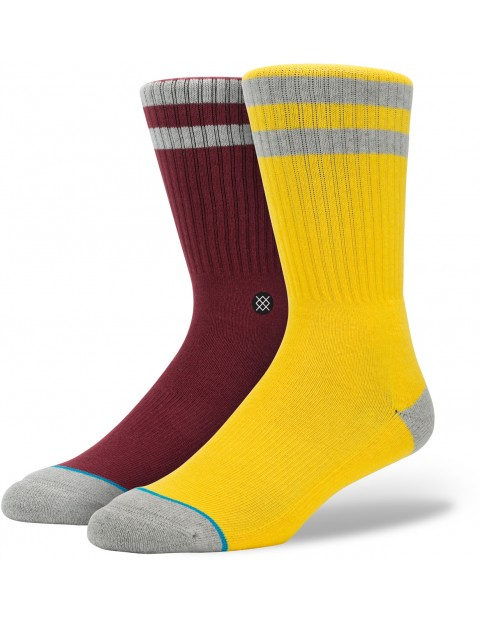 Stance Cosby Socks in Yellow
