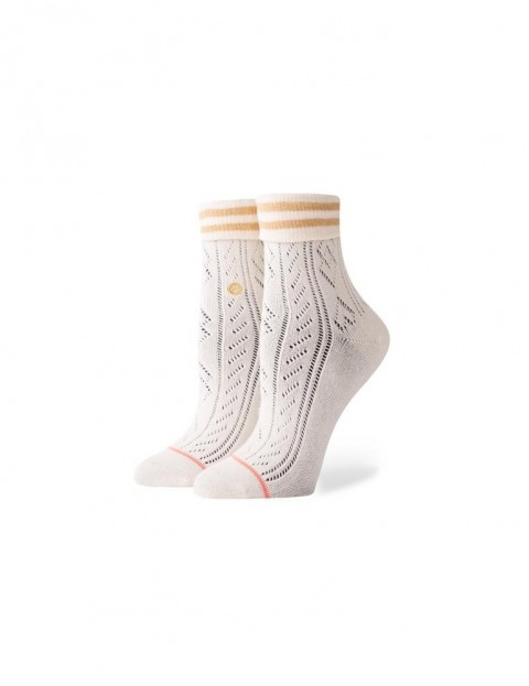 Stance Divine Ankle Socks in Off White
