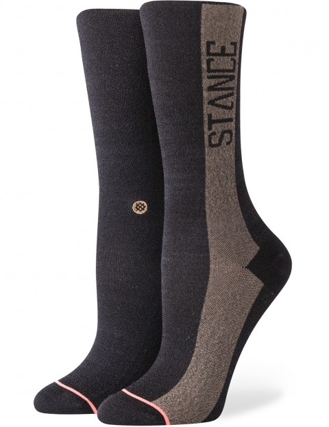 Stance Judge Me Crew Socks in Black
