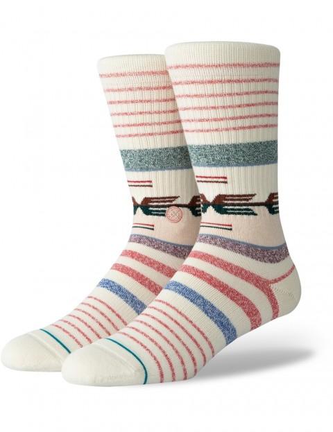 Stance Nambung Crew Socks in Natural