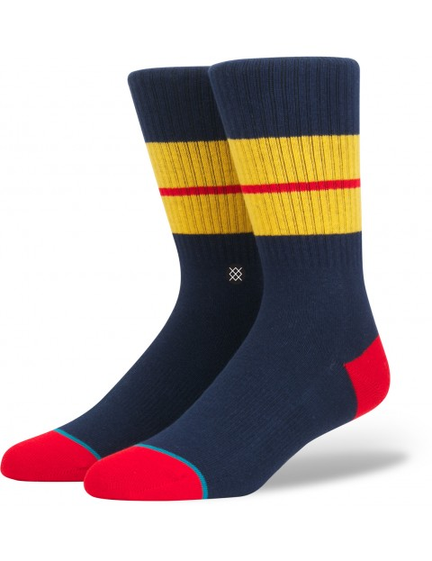 Stance Sequoia 2 Socks in Navy