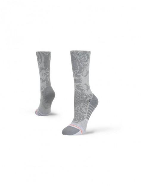 Stance Shiny Tiger Crew Crew Socks in Grey