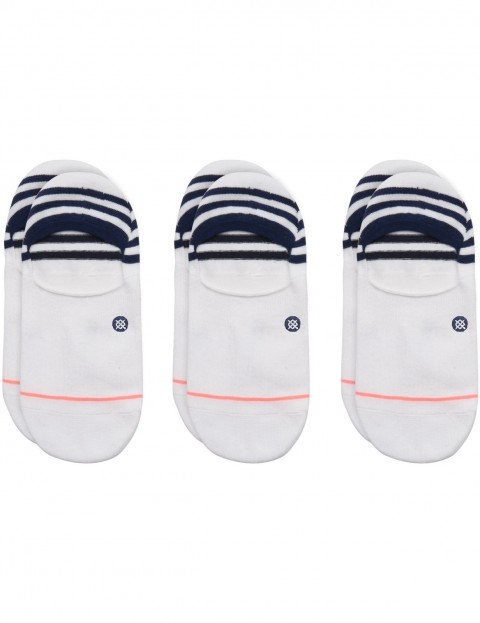 Stance Uncommon 3 Pack No Show Socks in White