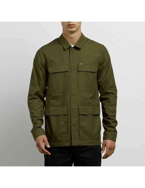 Volcom Academy Jacket in Seaweed Green