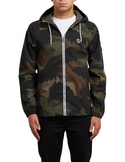 Volcom Ace Of Spade Jacket in Camouflage