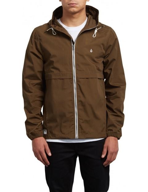 Volcom Howard Hooded Jacket in Seaweed Green