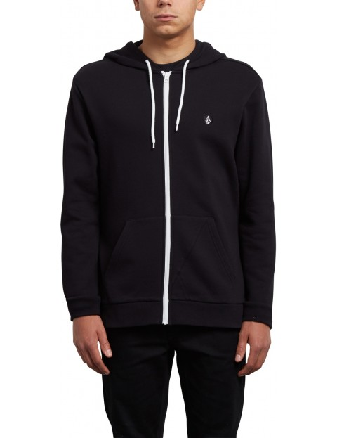 Volcom Iconic Zipped Hoody in Black