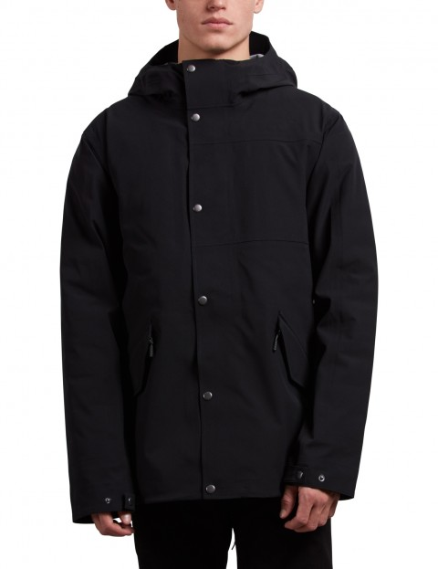 Volcom Lane Tds Parka Jacket in Black