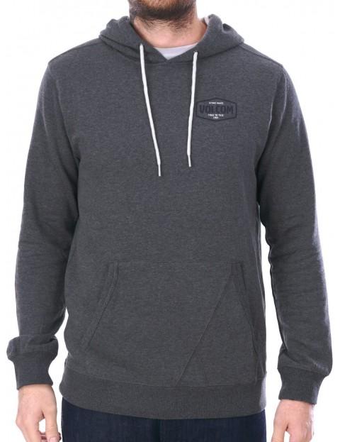 Volcom Packsaddle Pullover Hoody in Dark Grey