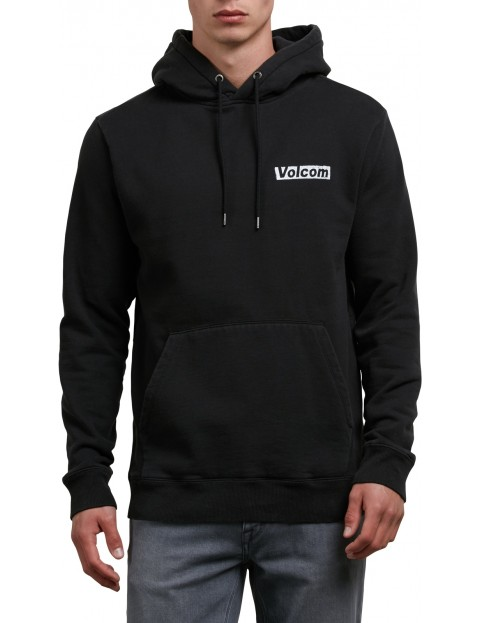 Volcom Reload Pullover Hoody in Washed Black
