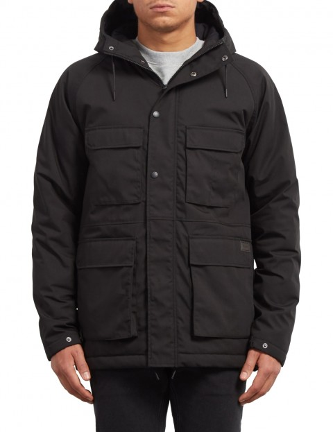 Volcom Renton Winter Jacket in Black
