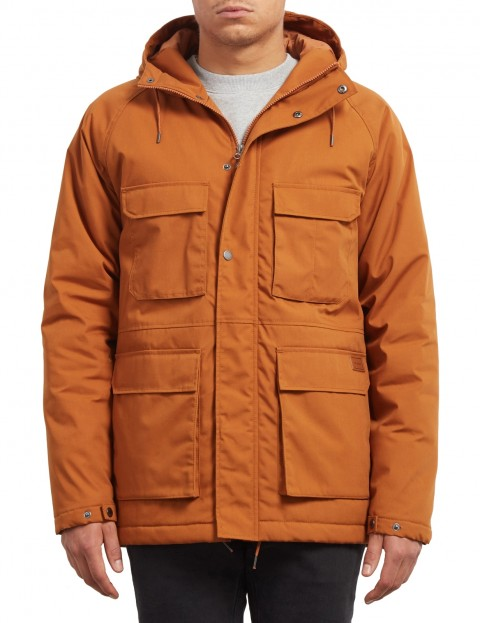 Volcom Renton Winter Jacket in Hazelnut