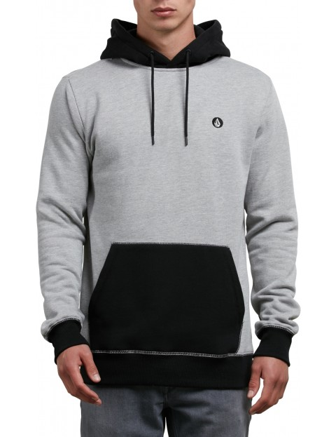 Volcom Single Stone Division Pullover Hoody in Grey