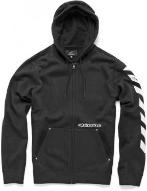 Alpinestars Debrief Zipped Hoody in Black