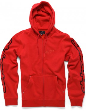 Alpinestars Determine Zipped Hoody in Red