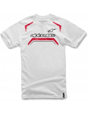 Alpinestars Driven Short Sleeve T-Shirt in White