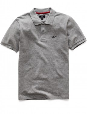 Alpinestars Double Face Polo Shirt in Charcoal