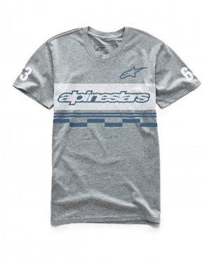 Alpinestars Finish Short Sleeve T-Shirt in Grey Heather