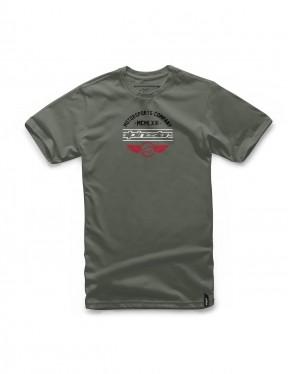 Alpinestars Jefe Short Sleeve T-Shirt in Military
