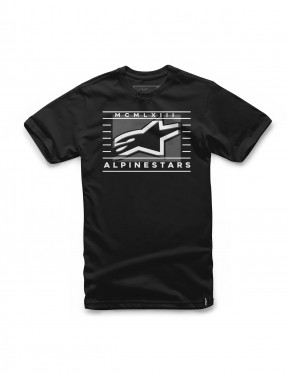 Alpinestars Time Short Sleeve T-Shirt in Black