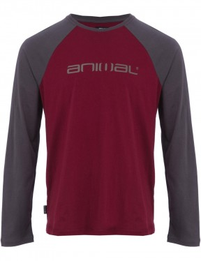 Animal Action Long Sleeve T-Shirt in Tawny Purple