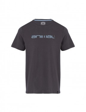 Animal Classico Short Sleeve T-Shirt in Asphalt Grey