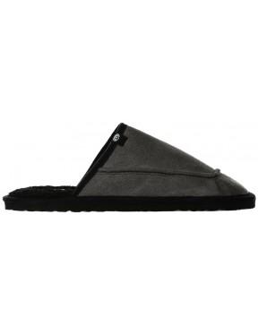 Animal Halfpipe Slippers in Black