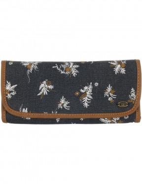 Animal Krista Faux Leather Wallet in Ashpalt Grey