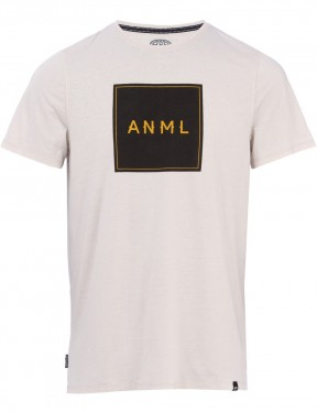 Animal Noah Short Sleeve T-Shirt in Violet Grey Marl