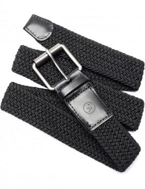 Arcade Hudson Webbing Belt in Black