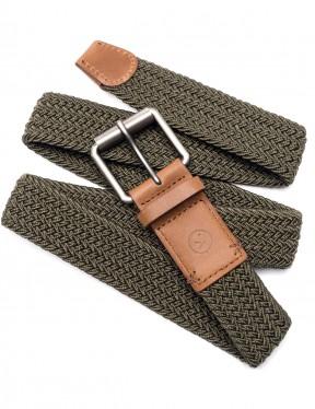 Arcade Hudson Webbing Belt in Olive Green