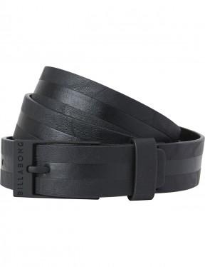 Billabong Bower Faux Leather Belt in Black