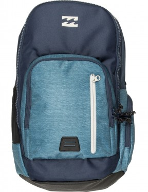 Billabong Command Backpack in Navy Heather