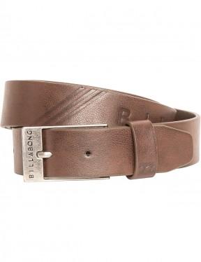 Billabong Junction Faux Leather Belt in Java