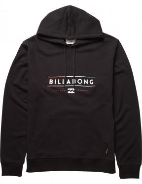 Billabong Tri Unity Pullover Hoody in Black