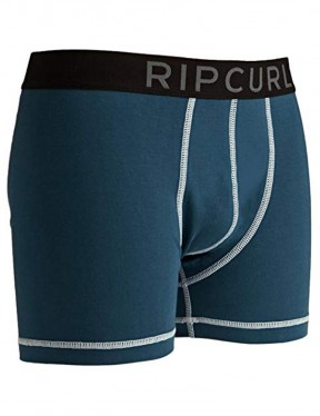 Rip Curl Solid Boxer Short Underwear in Indian Teal