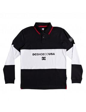 DC Emerson Polo Shirt in Black