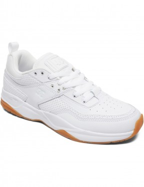 DC E.Tribeka Trainers in White/Gum