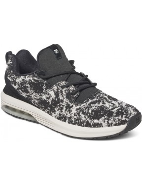 DC Heathrow IA TX Trainers in Black Marl
