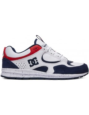 DC Kalis Lite SE Trainers in White/Red/Blue