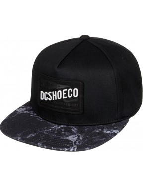 DC Leatherstan Cap in Black