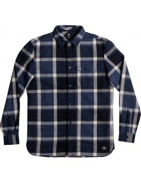 DC Marsha Long Sleeve Shirt in Washed Indigo